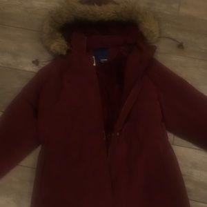 Women's fur lined jacket